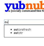 YubNub Suggest